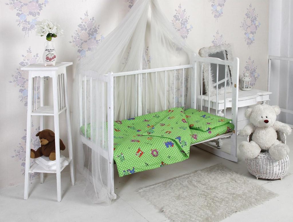 Комплект Алмакс Kids Азбука 1256-2 112x147/110x150/40x60 Бязь 2276774