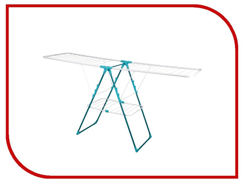 Сушилка для белья Nika СБ8А 18m White-Aquamarine сушилка для белья nika сб9 а 18m aquamarine