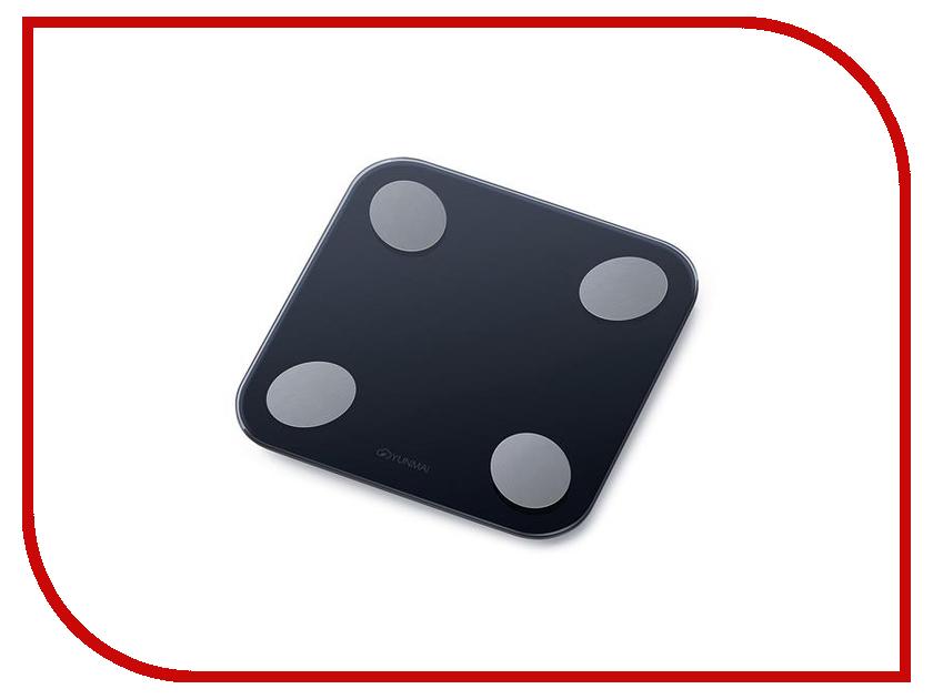 Весы напольные Yunmai Balance M1690 Black какой фирмы напольные весы лучше купить