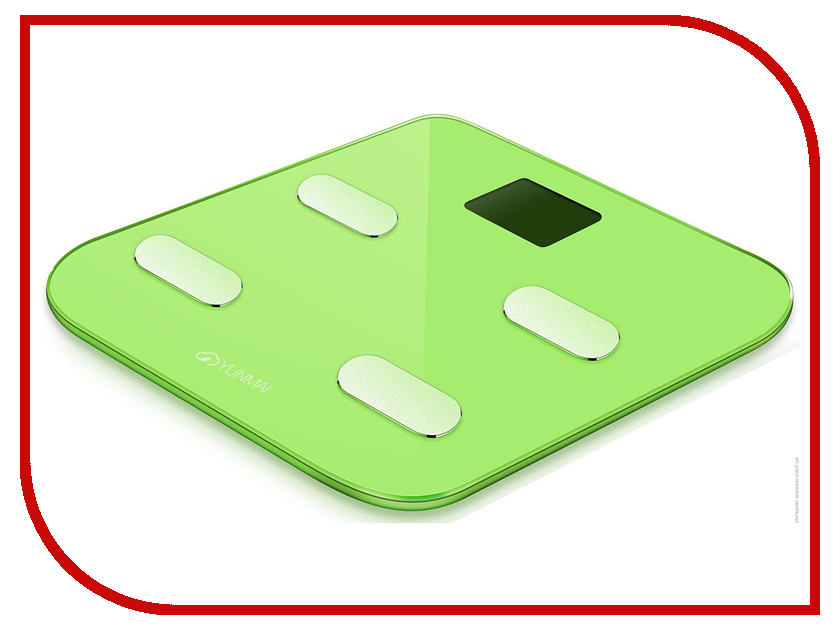 Весы напольные Yunmai Color M1302 Green какой фирмы напольные весы лучше купить
