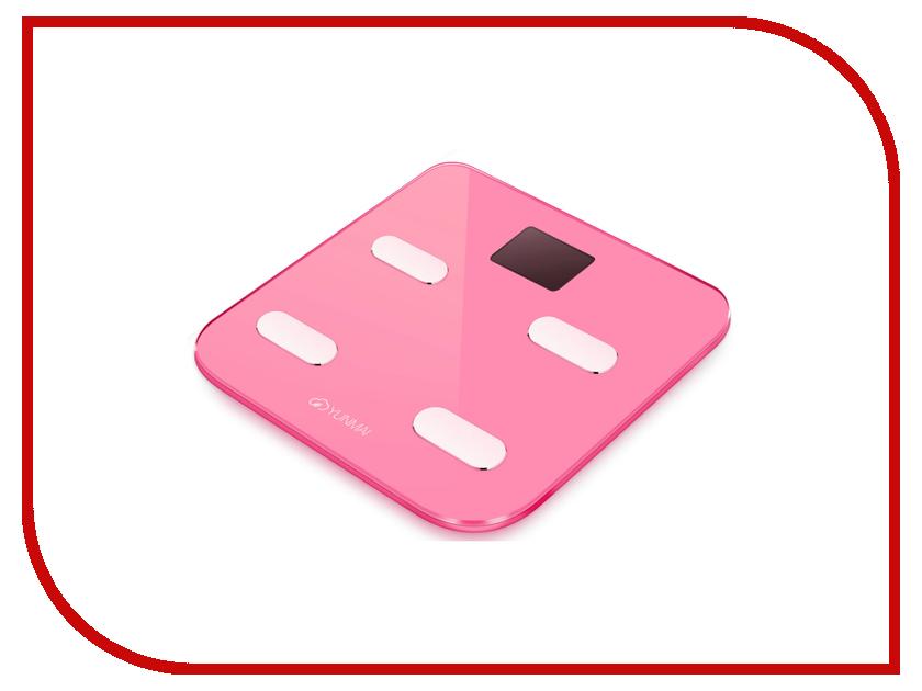 Весы напольные Yunmai Color M1302 Pink какой фирмы напольные весы лучше купить