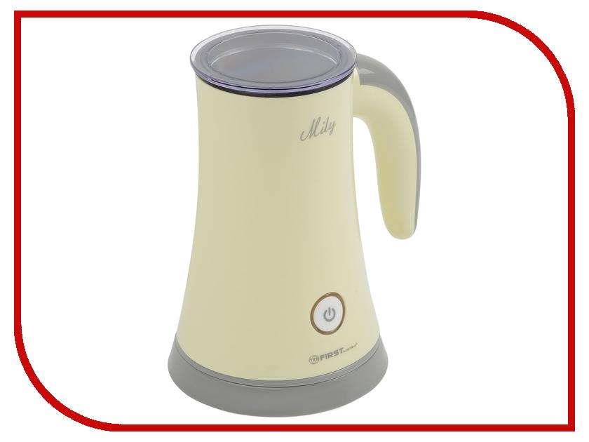 Вспениватель молока First FA-5440 White вспениватель молока ariete 2878 vintage