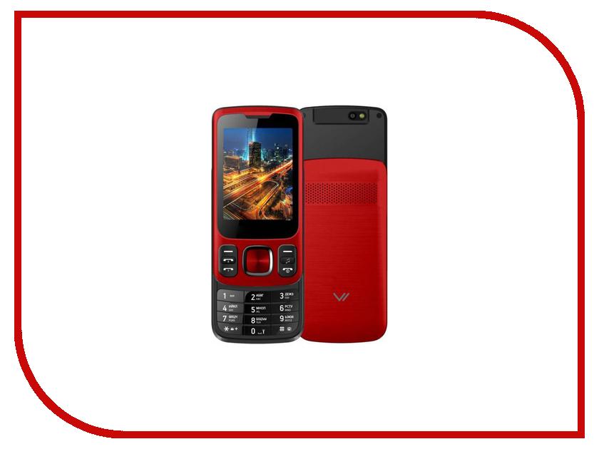 Сотовый телефон Vertex S107 Red