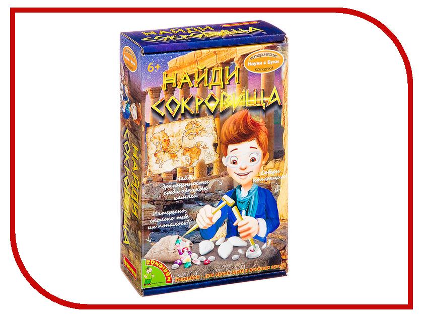 Игра Bondibon Науки с Буки Найди сокровища! ВВ2650