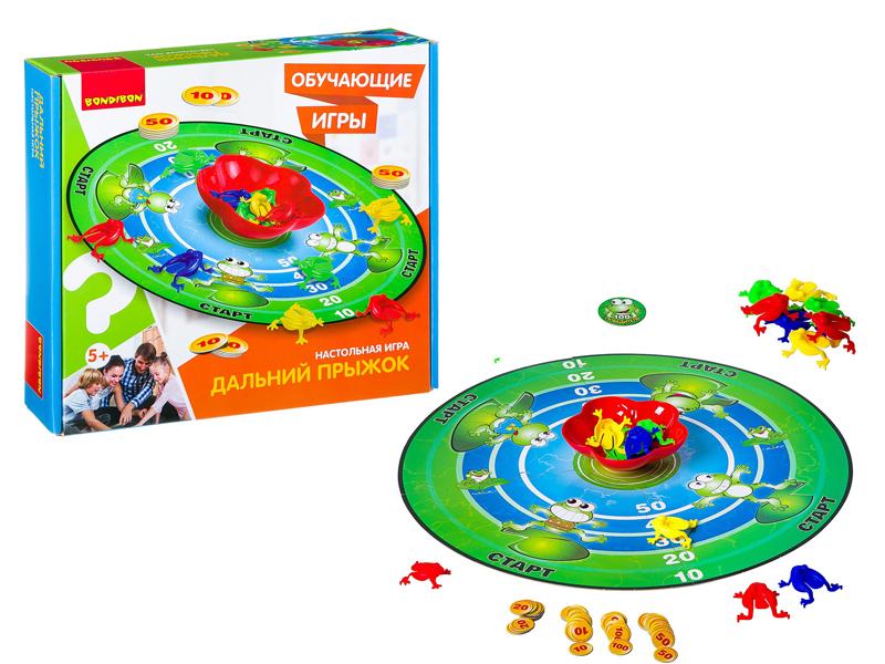 Настольная игра Bondibon Дальний прыжок ВВ2408 bondibon настольная игра bondibon разноцветные усы