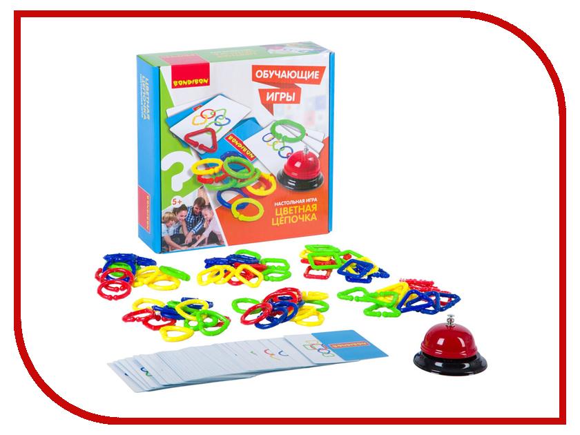 Настольная игра Bondibon Цветная цепочка ВВ2417 настольная игра bondibon цветная цепочка вв2417