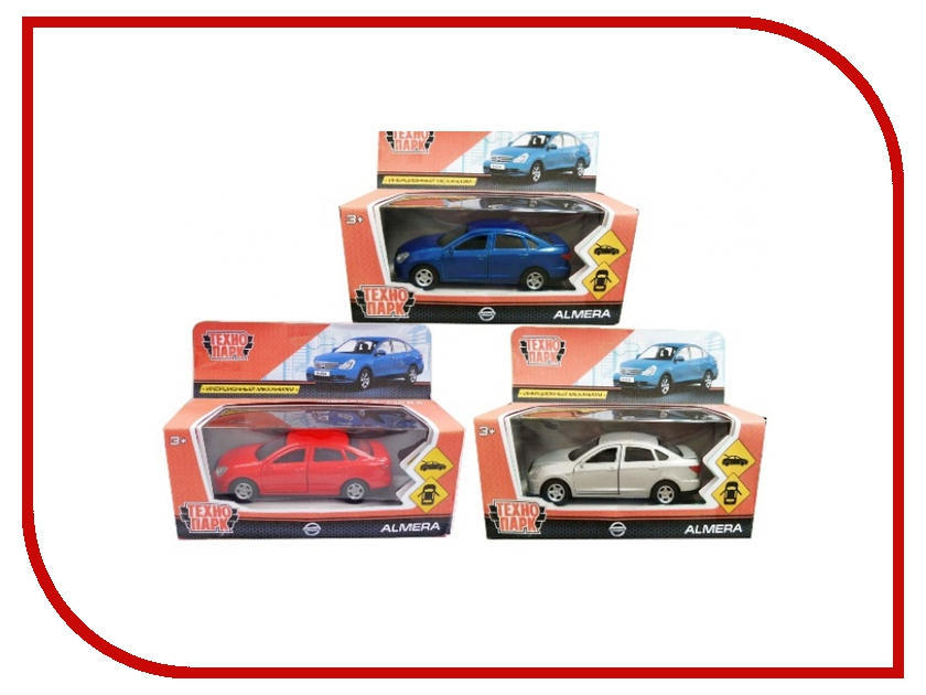 Машина Технопарк Nissan Almera SB-17-47-NA(N)-WB