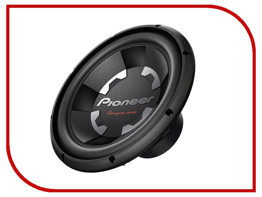 Сабвуфер Pioneer TS-300S4 сабвуфер pioneer ts wx210a динамик 8 150вт 2ом