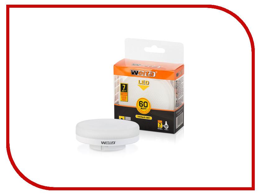 Лампочка Wolta LED R75/7W/3000K/GX53 25Y75R7GX53 su gx 5s r