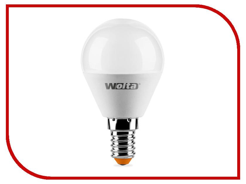 Фото Лампочка Wolta LED GL45/6W/3000K/E14 25Y45GL6E14-S