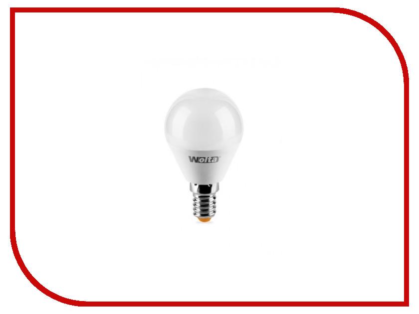 Лампочка Wolta LED GL45/6W/4000K/E14 25S45GL6E14-S