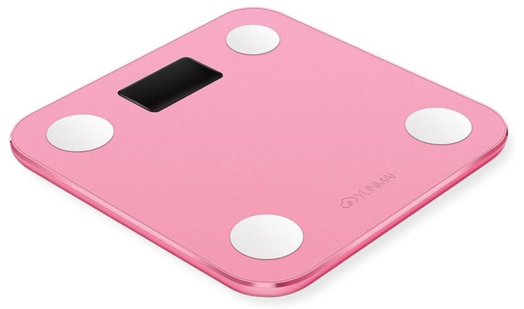 Весы напольные Yunmai Mini M1501 Pink весы напольные saturn st ps0294 pink