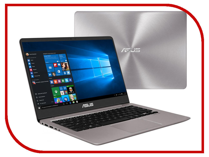 Ноутбук ASUS Zenbook UX410UA-GV065R 90NB0DL1-M09510 (Intel Core i3-7100U 2.4 GHz/4096Mb/256Gb SSD/No ODD/Intel HD Graphics/Wi-Fi/Bluetooth/Cam/14.0/1920x1080/Windows 10 64-bit) стоимость