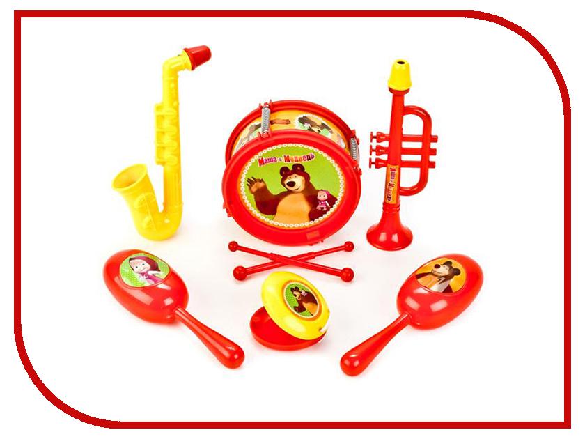 Детский музыкальный инструмент Играем вместе Маша и Медведь B1582336-R коврик пазл играем вместе маша и медведь