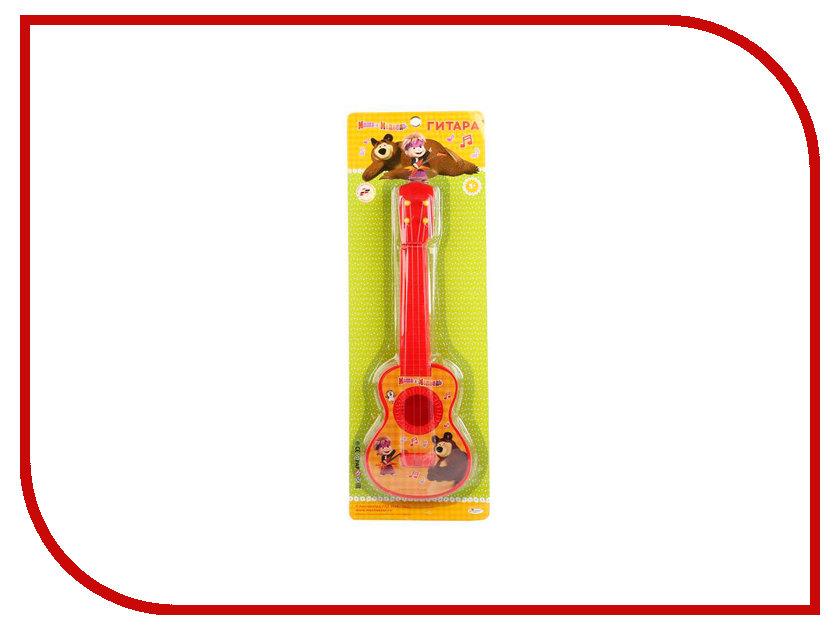 Детский музыкальный инструмент Играем вместе Гитара Маша и Медведь B1632045-R