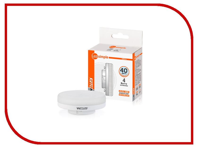 Лампочка Wolta LED R75/4W/4000K/GX53 25S75R4GX53-S su gx 5s r