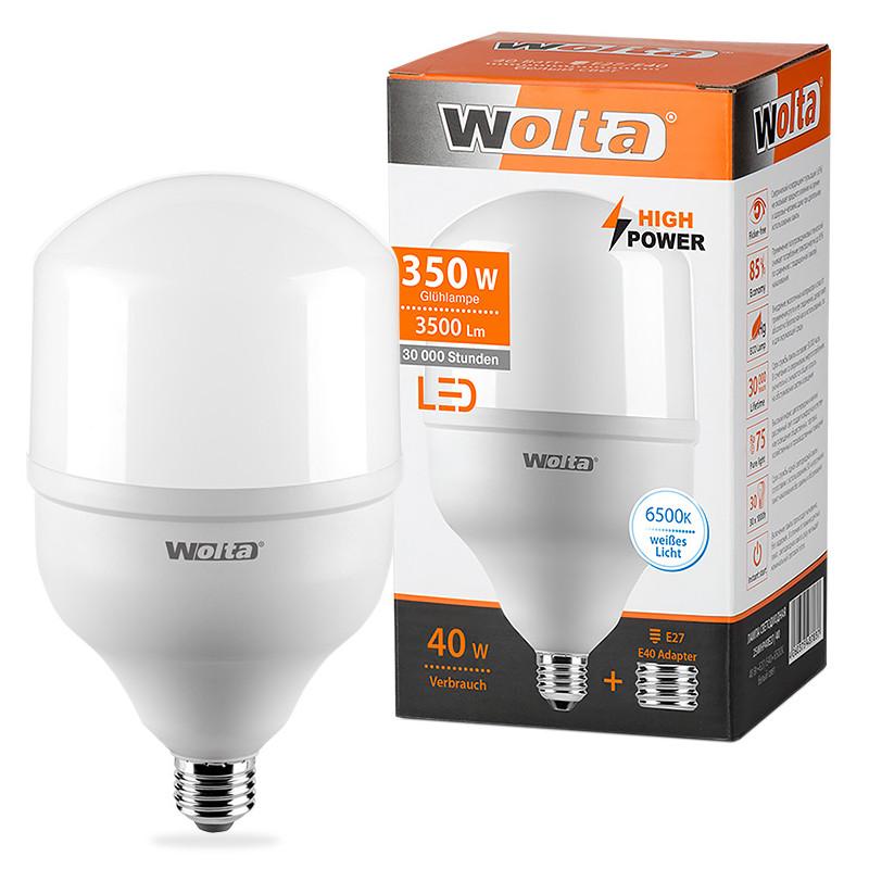 Лампочка Wolta LED HP/40W/6500K/E27/40 25WHP40E27/40