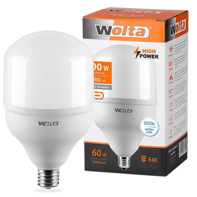 Лампочка Wolta LED HP/60W/6500K/E40 25WHP60E40