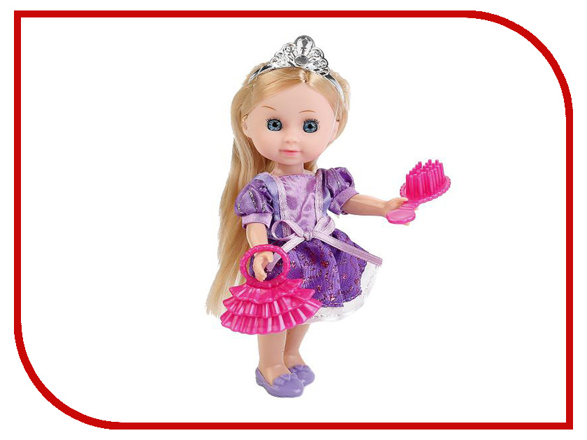 Кукла Карапуз Hello Kitty MARY63010A-HK карапуз кукла рапунцель со светящимся амулетом 37 см со звуком принцессы дисней карапуз