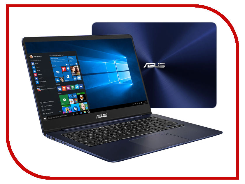 Нетбуки & ноутбуки UX430UN-GV022R  Ноутбук ASUS Zenbook UX430UN-GV022R 90NB0GH5-M02550 (Intel Core i5-8250U 1.6 GHz/8192Mb/512Gb SSD/No ODD/nVidia GeForce MX150 2048Mb/Wi-Fi/Bluetooth/Cam/14.0/1920x1080/Windows 10 64-bit)