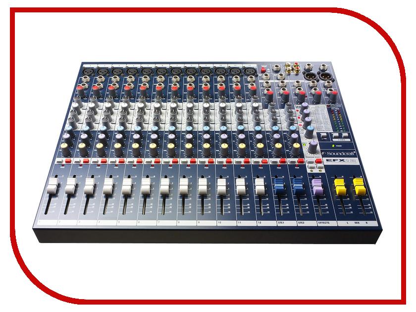 Пульт Soundcraft EFX12 плата расширения soundcraft sio usb firewire