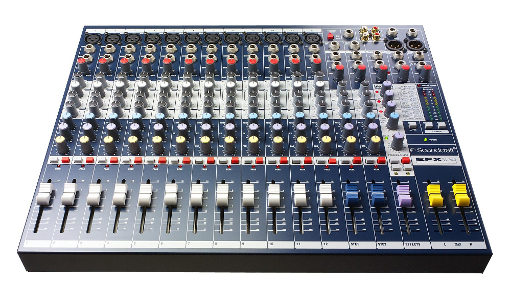 Пульт Soundcraft EFX12 soundcraft soundcraft epm12