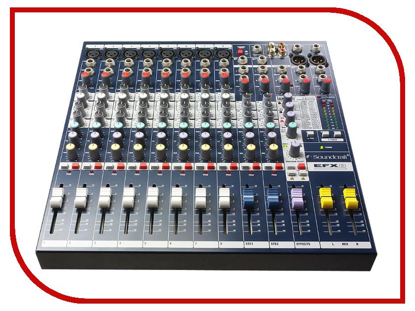 Пульт Soundcraft EFX8 аналоговый микшер soundcraft efx8