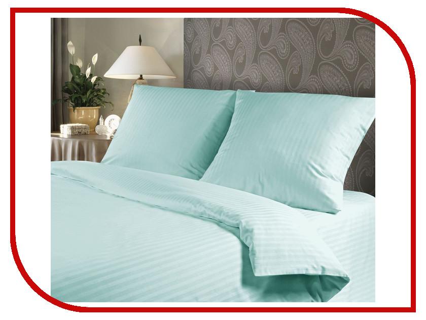 Фото Постельное белье Verossa Комплект 2 спальный Сатин-Страйп Blue Sky 711213