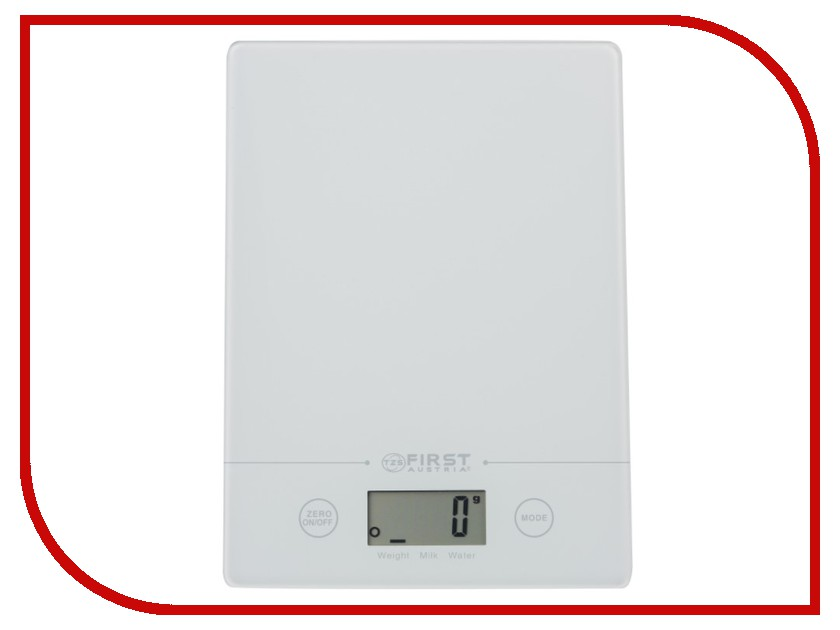 Весы First FA-6400 White