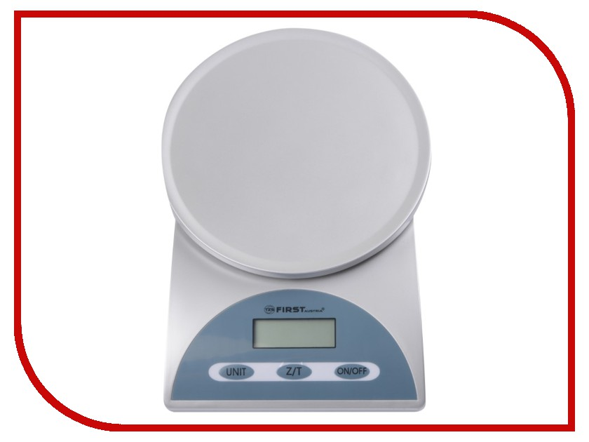 Весы First FA-6405 Grey