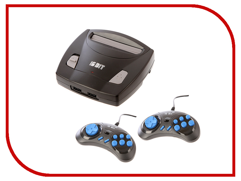 Игровая приставка SEGA Magistr Drive 2 lit + 98 игр игровая приставка sega genesis nano trainer white 390 игр