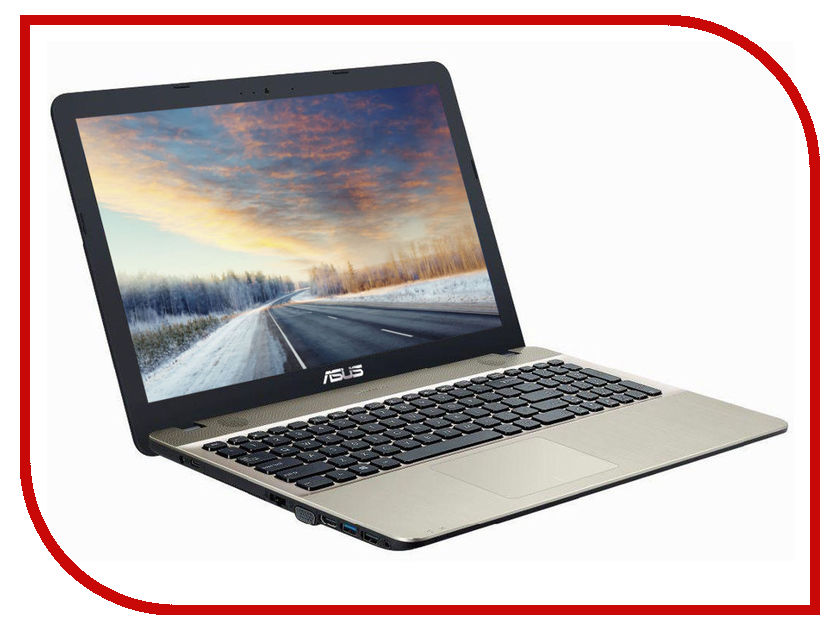 Ноутбук ASUS VivoBook Special A541NA-DM449 90NB0E81-M12830 (Intel Pentium N4200 . GHz/4096Mb/500Gb/No ODD/ HD Graphics/Wi-Fi/Bluetooth/Cam/15./1920x1080/Endless)