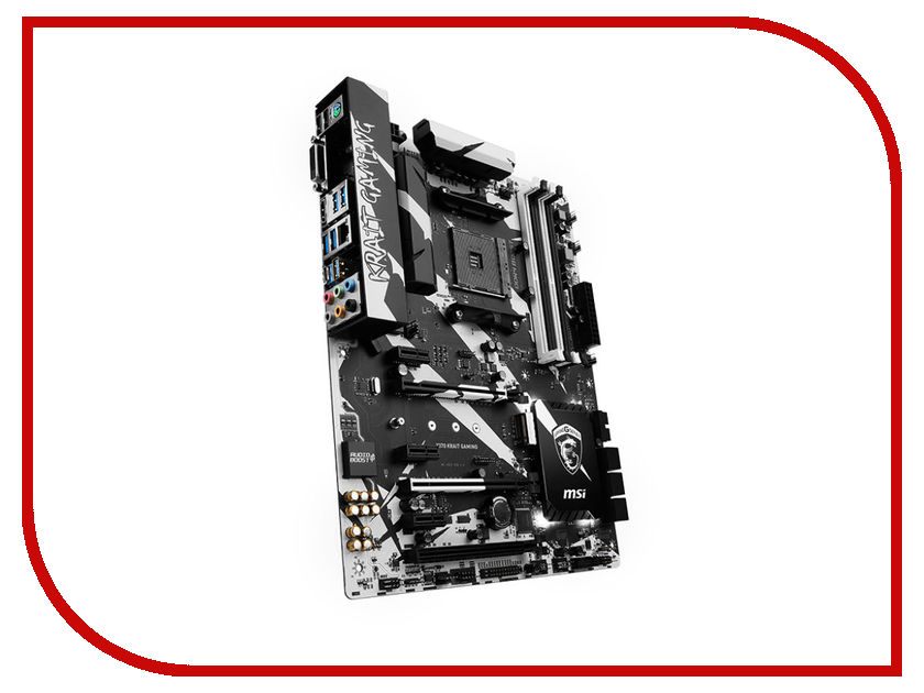 Материнская плата MSI X370 KRAIT GAMING bykski full coverage gpu water block for msi gtx1080ti gaming x 11gb graphics card water cooled head n ms1080tigm x