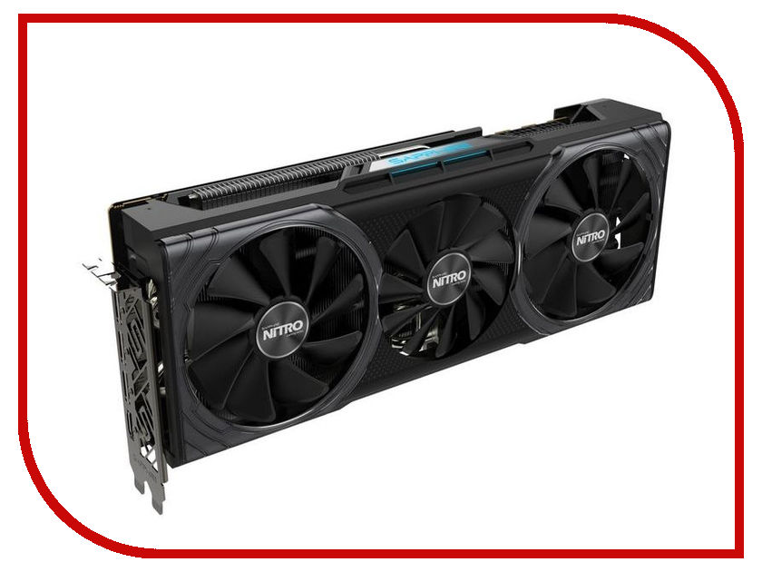 Видеокарта Sapphire RX Vega 56 Nitro+ 1266Mhz PCI-E 3.0 8192Mb 800Mhz 2048 bit DP HDMI HDCP 11276-01-40G