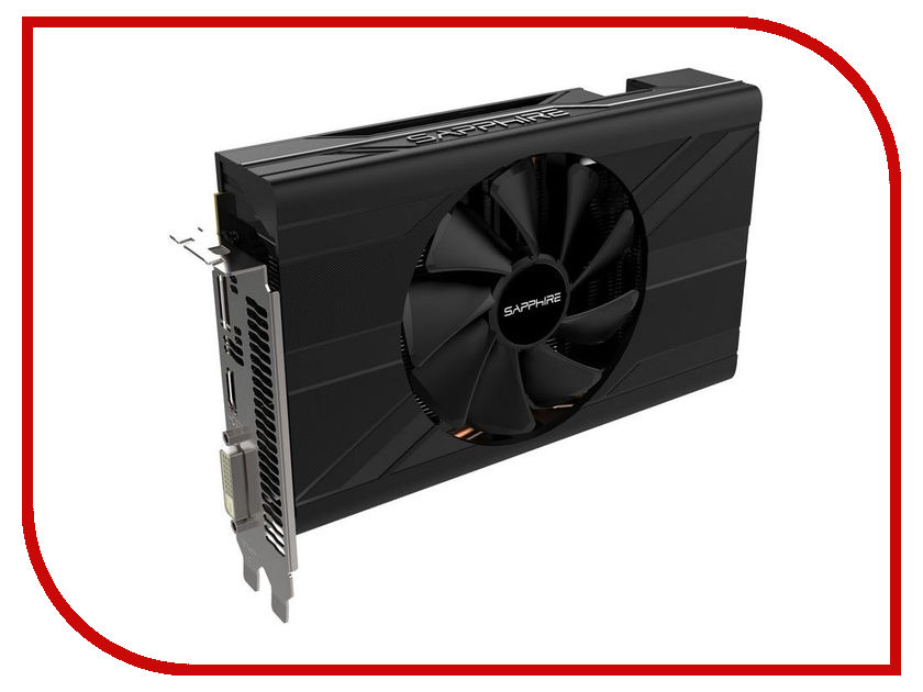 Видеокарта Sapphire Radeon RX 570 Pulse 1244Mhz PCI-E 3.0 4096Mb 6000Mhz 256 bit DVI HDMI HDCP 11266-34-20G видеокарта 6144mb msi geforce gtx 1060 gaming x 6g pci e 192bit gddr5 dvi hdmi dp hdcp retail
