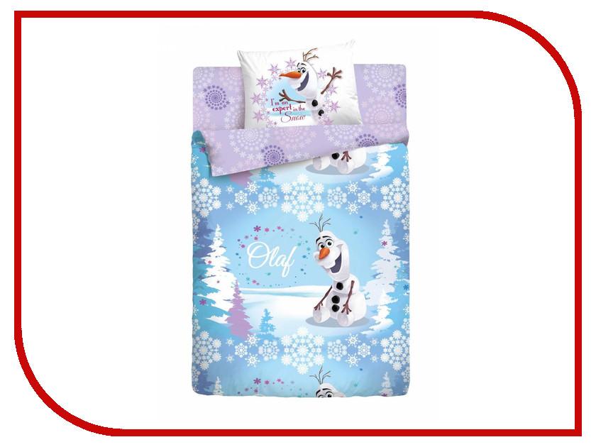 Постельное белье Disney Олаф зима Комплект 1.5 спальный Ранфорс 186495 олаф бьорн локнит мятеж четырех
