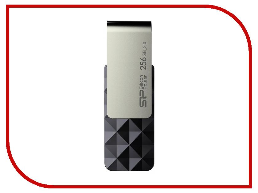 USB Flash Drive 256Gb - Silicon Power Blaze B30 SP256GBUF3B30V1K usb flash накопитель silicon power usb drive 32gb blaze b31