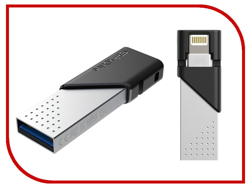 USB Flash Drive Silicon Power SP xDrive Z50 64GB