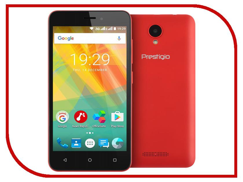 Сотовый телефон Prestigio Wize G3 Wine PSP3510DUOWINE prestigio wize c3 dual blue