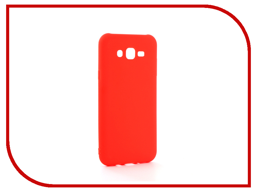 Аксессуар Чехол Samsung Galaxy J7 Neo Neypo Soft Matte Silicone Red NST3574 аксессуар чехол samsung galaxy a7 2017 with love moscow silicone russia 5090