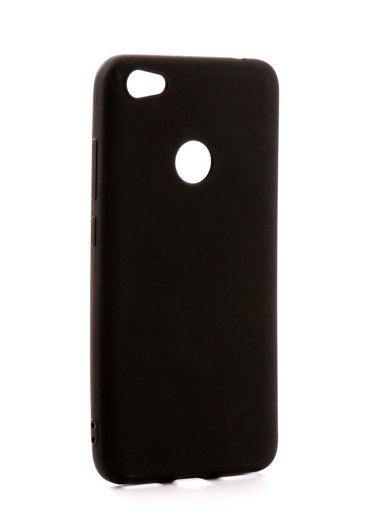 Аксессуар Чехол Neypo для Xiaomi Redmi Note 5A Soft Matte Silicone Black NST3375 аксессуар чехол для nokia 6 2018 neypo soft matte silicone black nst4301