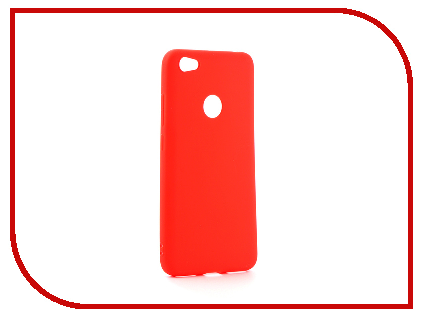 Аксессуар Чехол для Xiaomi Redmi 5A Neypo Soft Matte Silicone Red NST3572 mooncase s line soft flexible silicone gel tpu skin shell back чехол для htc one m9 blue