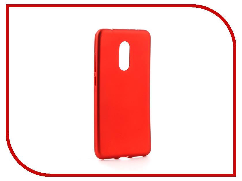 Аксессуар Чехол Xiaomi Redmi 5 Neypo Neon Silicone Red NSTN3523