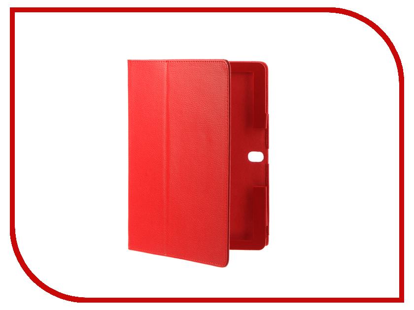 Аксессуар Чехол Huawei Media Pad M3 Lite 10 IT Baggage Red ITHWM310-3 чехол книжка it baggage для смартфона huawei p8 lite искусственная кожа черный