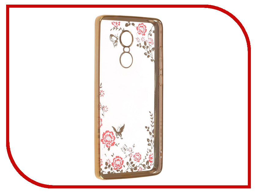 Аксессуар Чехол-накладка Xiaomi Redmi Note 4X SkinBox Silicone Chrome Border Color Style 1 4People Pink T-S-XRN4X-010 аксессуар чехол накладка samsung galaxy a3 2017 skinbox silicone chrome border color style 1 4people white t s sga32017 009