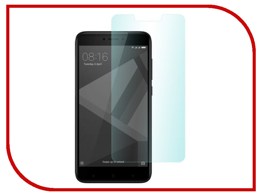 цена на Аксессуар Защитное стекло Xiaomi Redmi 4X SkinBox глянцевое 0.3mm SP-377
