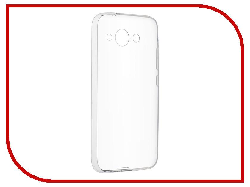 Аксессуар Чехол-накладка Huawei Y3 2017 SkinBox Slim Silicone Transparent T-S-HY32017-005 аксессуар чехол накладка huawei mate 10 skinbox slim silicone transparent t s hm10 006