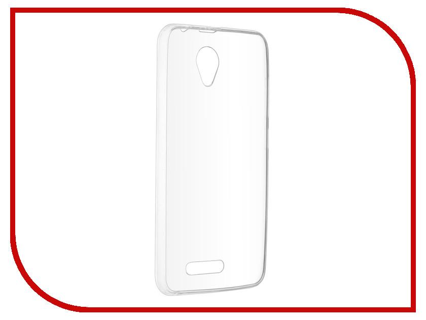 Аксессуар Чехол-накладка Prestigio Wize G3 SkinBox Slim Silicone Transparent T-S-PWG3-005