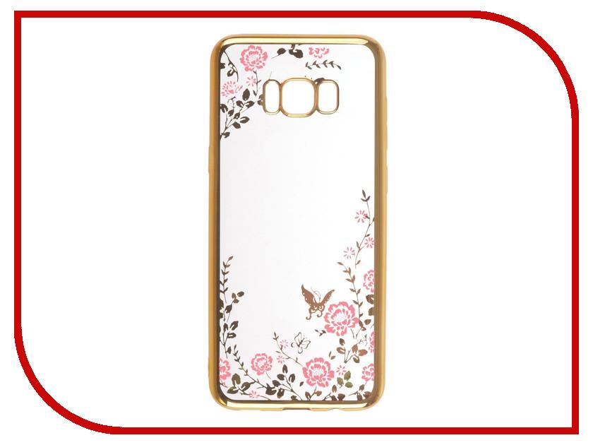Аксессуар Чехол-накладка Samsung Galaxy S8 Plus SkinBox Silicone Chrome Border Color Style 1 4People Pink T-S-SGS8P-010 аксессуар чехол накладка samsung galaxy a5 2017 skinbox silicone chrome border 4people silver t s sga52017 008