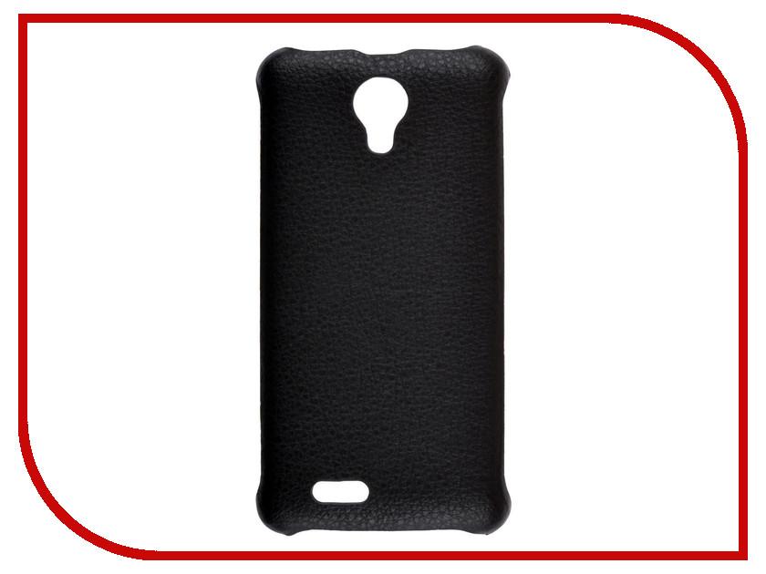 Аксессуар Чехол-накладка Digma Q400 3G HIT SkinBox Leather Shield Black T-S-DQ4003GH-009 планшет digma plane 1601 3g ps1060mg black